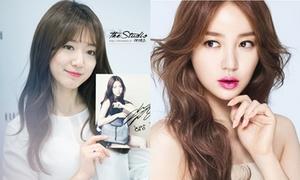 3 kiểu tóc mái dài quyến rũ của sao Hàn