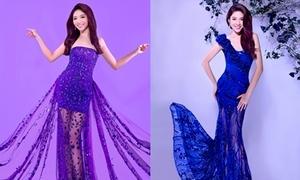 Váy dạ hội lộng lẫy, tôn đường cong sexy