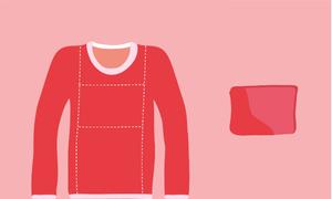 Nhận biết tính cách qua 4 cách gấp áo phổ biến