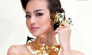 PNJ trình diễn trang sức tại Tuần lễ thời trang quốc tế