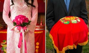 Lịch trình lễ ăn hỏi và đón dâu trong một ngày