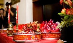 Chuẩn bị 3 nghi lễ cưới không thể thiếu