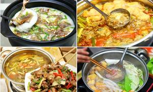 10 món lẩu nườm nượp khách ngày se lạnh ở Hà Nội