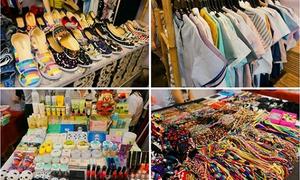 Nét độc đáo tại hội chợ Viets Corner Flea Market
