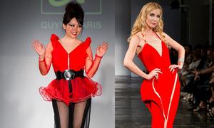 Quỳnh Paris chinh phục làng thời trang Mỹ