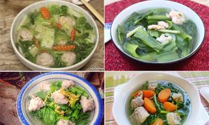 7 món canh cải ăn không biết ngán trong mùa đông