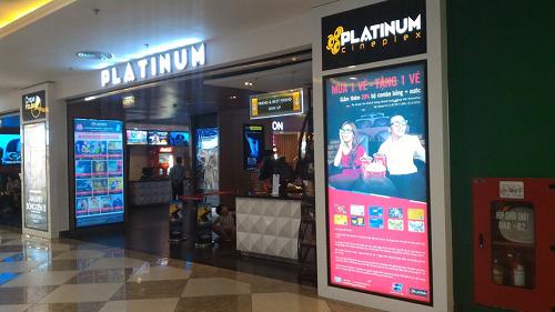 """Chủ thẻ UnionPay hiện được """"mua một tặng một"""" vé tại toàn bộ hệ thống rạp Platinum Cineplex."""