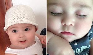 Vẻ cute của bé 9 tháng tuổi đốn tim người xem