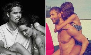 10 cặp sao 'hot' nhất Hollywood năm 2015