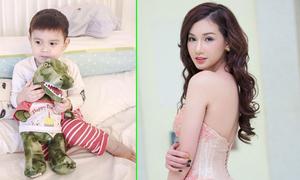 Quỳnh Chi nhớ con trai da diết
