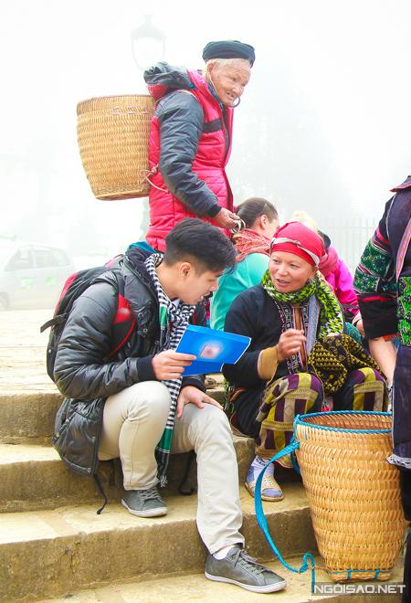 Mặc dù có cơ hội đi đến nhiều điểm du lịch khác nhau trên khắp Việt Nam, nhưng đây là lần đầu tiên MC Nguyên Khang đến với Sapa. Anh đã dành nhiều thời gian trò chuyện với các cụ già người dân tộc để tìm hiểu về văn hoá của người dân tộc thiểu số, tìm hiểu sự khác biệt trong trang phục của người dân tộc Dao, Giáy, Xa Phó, Mông, Tày và cả nét đặc trưng về ẩm thực của mỗi một dân tộc.