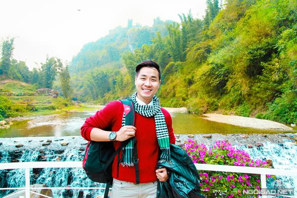Mặc dù có cơ hội đi đến nhiều điểm du lịch khác nhau trên khắp Việt Nam, nhưng đây là lần đầu tiên MC Nguyên Khang đến với Sapa.