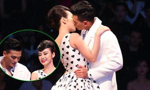 Angela Phương Trinh 'khóa môi' chàng thơ của Đỗ Mạnh Cường