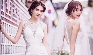 Ngọc Trinh, Linh Chi làm cô dâu ở Hàn Quốc