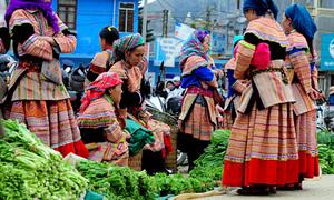 Khách nước ngoài chia sẻ bí kíp đi chợ Sapa