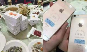 Tặng hàng chục chiếc iPhone 6s cho bạn học cũ
