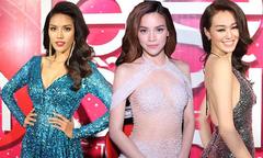 Dàn sao sexy trên thảm đỏ 'Siêu mẫu Việt Nam'