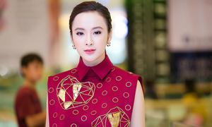 Angela Phương Trinh mặc kín mít đi sự kiện