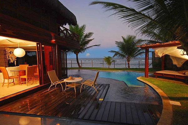 Khung cảnh lãng mạn tại resort nơi gia đình 'Người đặc biệt' nghỉ ngơi.
