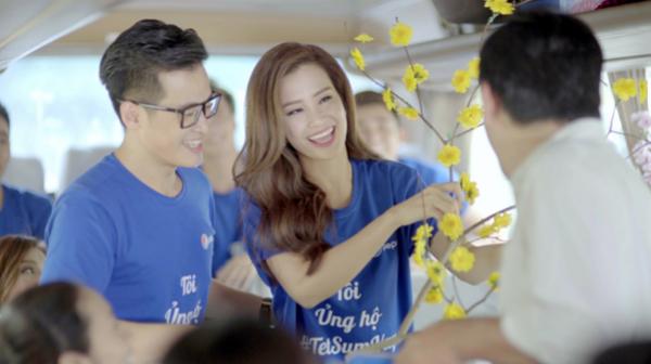 Hà Anh Tuấn, Đông Nhi, nhóm 365 và Tiêu Châu Như Quỳnh đã cùng nhau thực hiện MV Tết sum vầy  một món quà cảm động và ý nghĩa dành tặng khán giả trong dịp Tết Bính Thân này.