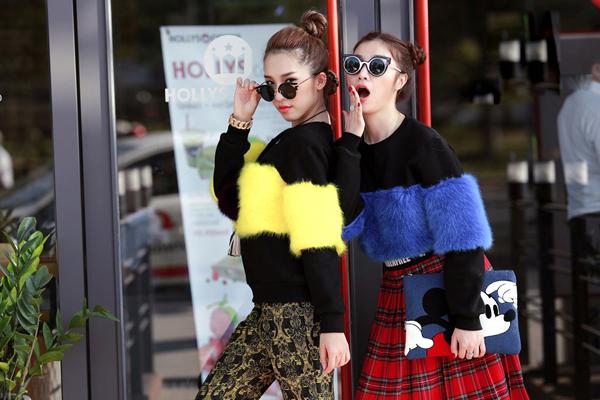 Hạnh Sino và Emily cùng xuất hiện trong bộ ảnh thời trang đường phố với những cách phối đồ sáng tạo
