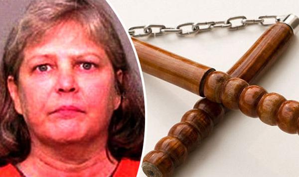 BàSondra Earle-Kelly đang bị buộc tội bạo lực gia đình. Ảnh: Express