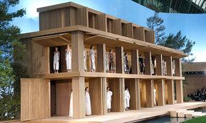 Chanel dựng nhà búp bê khổng lồ giữa 'khu vườn' xanh mướt