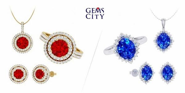 Bên cạnh sắc đỏ ấm nóng của đá ruby, bạn cũng có thể lựa chọn sắc xanh lam dịu ngọt mang ý nghĩa của hy vọng và hạnh phúc với trang sức đá sapphire gắn kim cương sang trọng. Nguồn năng lượng thiên nhiên vốn có trong các loại đá quý sẽ giúp chủ nhân luôn rạng rỡ và tràn đầy sức sống. Dòng sản phẩm được ưu đãi 15%.
