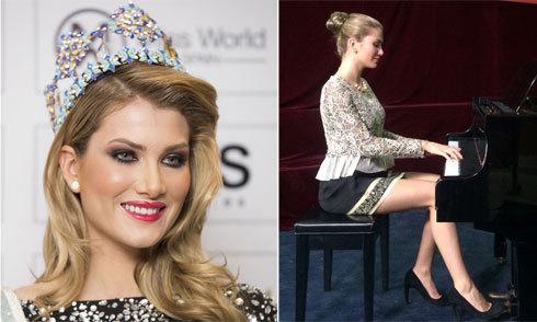 Tân Hoa hậu Thế giới gian dối về tài năng của bản thân