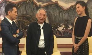 Ngô Thanh Vân tươi tắn trò chuyện với 'soái ca' Diệp Vấn
