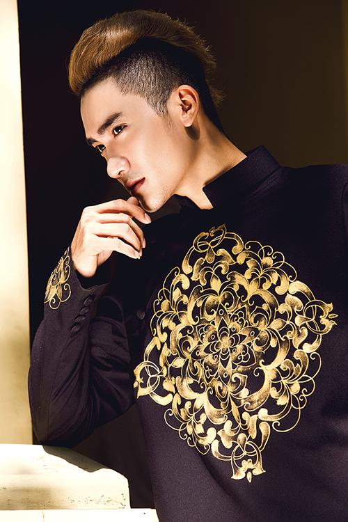 Bộ ảnh được thực hiện bởi photo Bảo Lê, makeup: Linh Chuột Con, trang phục: Áo dài Minh Châu.