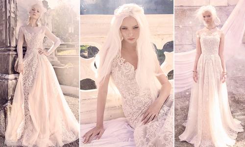 Váy cưới giúp cô dâu đẹp lộng lẫy như nữ thần