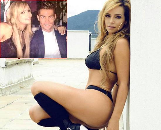 Người đẹp Nataly Rincon chia sẻ rằng C. Ronaldo