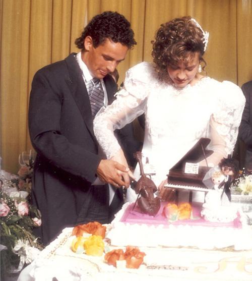 Cựu danh thủ Italy và bà xã Andreina kết hôn vào tháng 7/1989