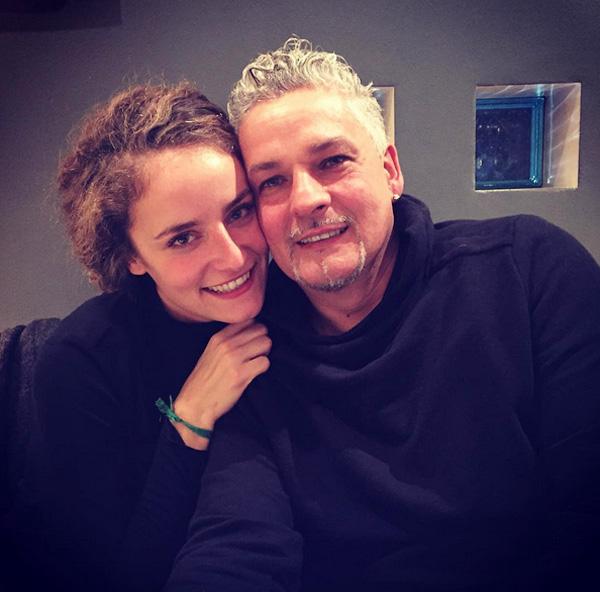 Baggio và cô con gái lớn Valentina nay đã bước sang tuổi 26.