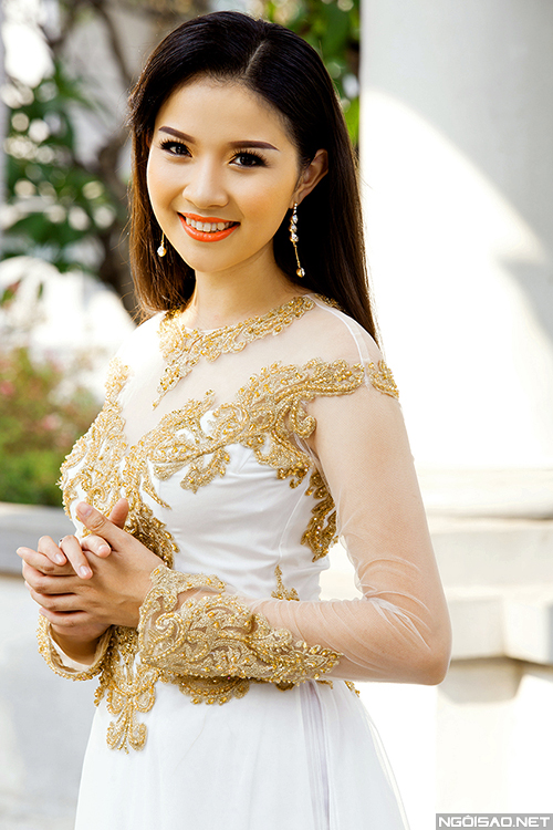 Bộ ảnh được thực hiện bởi photo: Bảo Lê, makeup: Mai Huy Phong, người mẫu: Mỹ Duyên, trang phục: Áo dài Minh Châu.