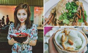 6 món ăn đường phố khiến Kỳ Duyên phải lòng