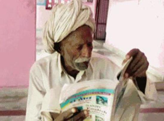 Ông Shiv Charan Yadav. Ảnh: Indiatimes