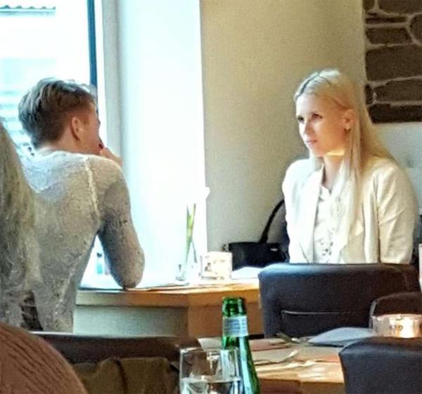 Reus và bạn gái xinh đẹp trong một lần hẹn hò.