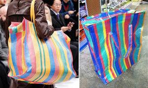 Túi hiệu 3.000 USD giống túi 50.000 đồng của Thái