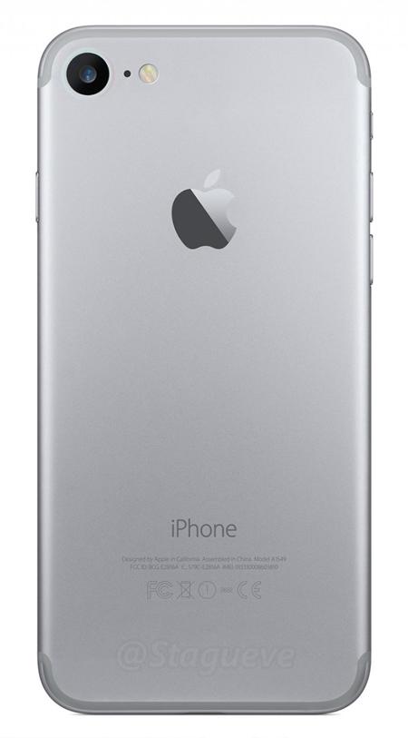 Một ý tưởng thay đổi dải nhựa angten trên iPhone mới. Ảnh: NowhereElse