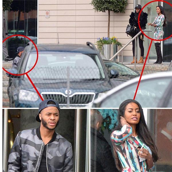 Raheem Sterling bị bắt gặp tới khách sạn