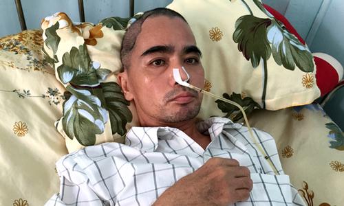 Vợ chồng Nguyễn Hoàng khó khăn chồng chất sau tai biến