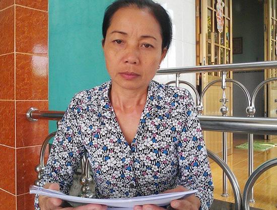 Bà Nguyễn Thị Loan.