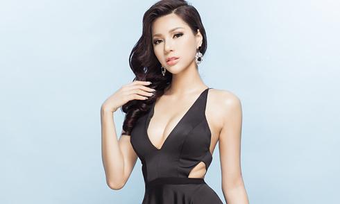 Siêu mẫu Khả Trang thi Miss Eco Universe