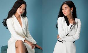 Váy thanh lịch cho nàng yêu sắc trắng