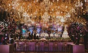 Khung cảnh 'thần tiên' trong lễ cưới cặp đôi Indonesia