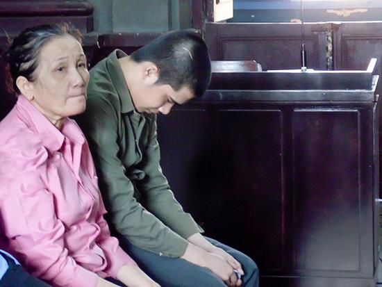 Bị cáo Nguyễn Thị Sương tại phiên tòa.