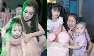 Elly Trần đưa con gái xinh xắn đi sự kiện