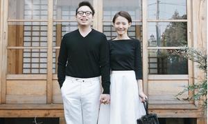 Thời trang của cặp đôi Hàn Quốc gây sốt với ảnh 'trước hiên nhà'